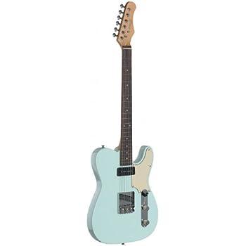 Stagg Guitarra Eléctrica Estilo Vintage: Amazon.es: Instrumentos ...