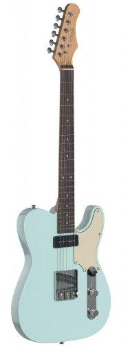 Stagg SET-CST SNB Vintage T Series Custom Guitarra eléctrica con cuerpo de...