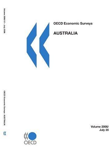 OECD Economic Surveys: Australia 2006: Edition 2006の詳細を見る