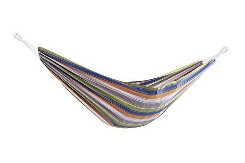 Vivere BRAZ231 Hamac double brésilien en coton, multicolore - Retro