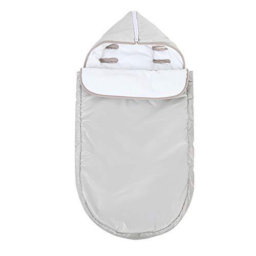 VKTY Baby Kinderwagen-Schlafsack, Winterschlafsack, 0-18 Monate, warmer Pucksack, bequemer Schlafsack für Babywagen und Krippe