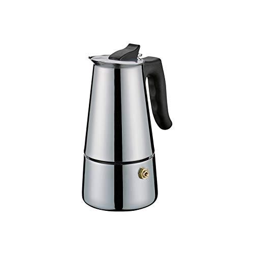 Cilio Espressokocher Adriana, 4 Tassen, Edelstahl, Induktion geeignet