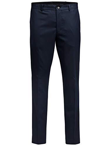Jack & Jones Premium 12095024 - Pantalon De Costume - Droit - Homme, Bleu (Dark Navy), W52