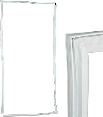TronicXL, guarnizione universale per porta del frigorifero, 1300 x 700 mm, 1,3 m, guarnizione in gomma di tenuta compatibile con molti dispositivi Bosch Siemens Miele AEG