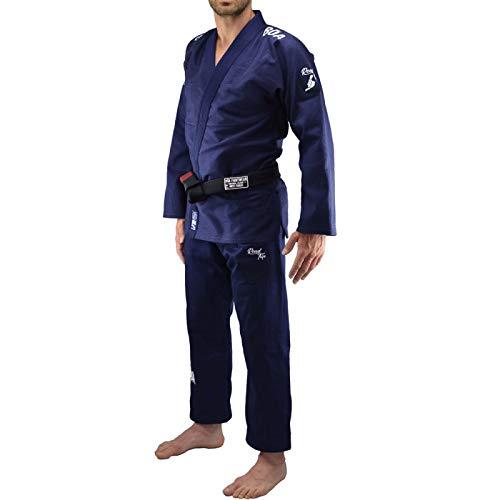 Bõa BJJ GI Road Trip Navy, Kimonos (Brazilian Jiu Jitsu) Hombre, azul, tamaño FR : S (Taille Fabricant : A1)