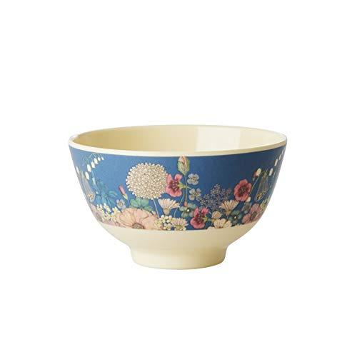 Rice Melamin Schale Schüssel mit Blumen Collagen Muster - 11 cm Durchmesser