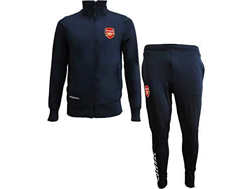 Gunners Tuta Completa Pantaloni e Giacca Replica Originale con Licenza Ufficiale (11-12 Anni)