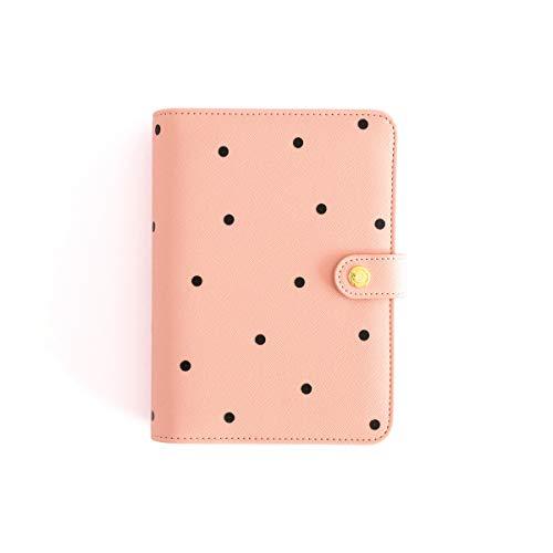 Planner personale, formato A6, colore: rosa talpa
