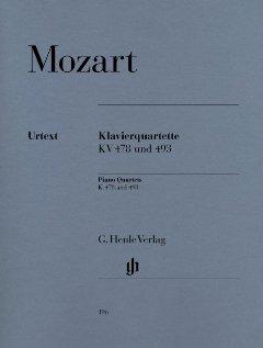 KLAVIERQUARTETTE - arrangiert für Violine - Viola - Violoncello - Klavier [Noten / Sheetmusic] Komponist: MOZART WOLFGANG AMADEUS