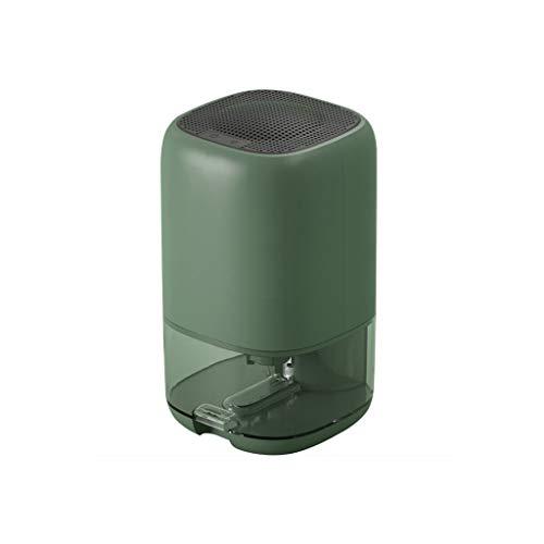 Ping Bu Qing Yun Deshumidificador hogar pequeño Dormitorio deshumidificador deshumidificador máquina de absorción de deshumidificación la Humedad portátil Humedad (Color : Green)