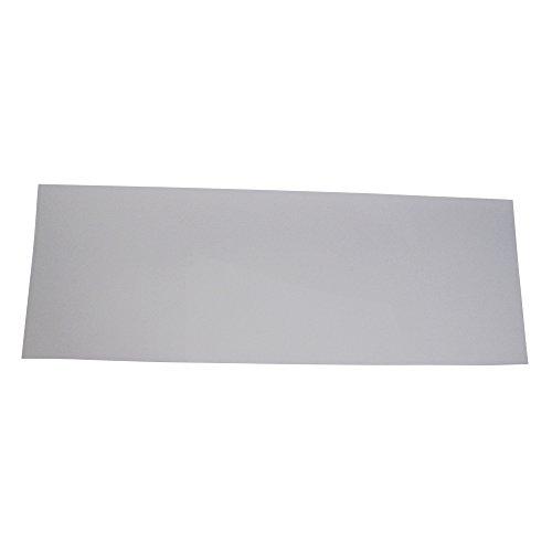 "Skat Blast Medium 12"" x 33"" Sandblasting Cabinet Acrylic Outer Lens Protector, Made in USA, 6101-12"