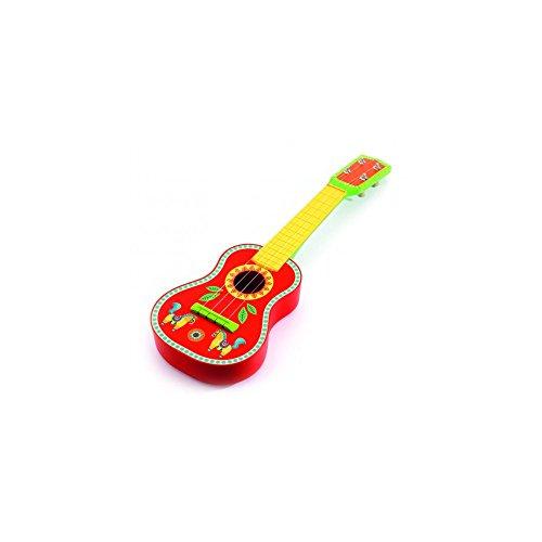 Bunt bemalte Gitarre Animambo von djeco
