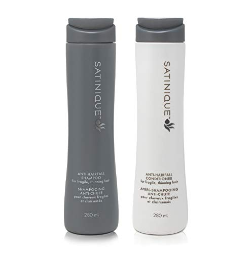 1 x Anti-Haarausfall-Shampoo SATINIQUE™ - 1 x 280 ml + 1 x Anti-Haarausfall-Pflegespülung SATINIQUE™ - 1 x 280 ml - Amway - (Art.-Nr.: 110659) + (Art.-Nr.: 116823)
