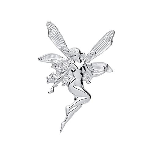 London Jewellery Quarter Fairy Broche Plata Maciza Contraste