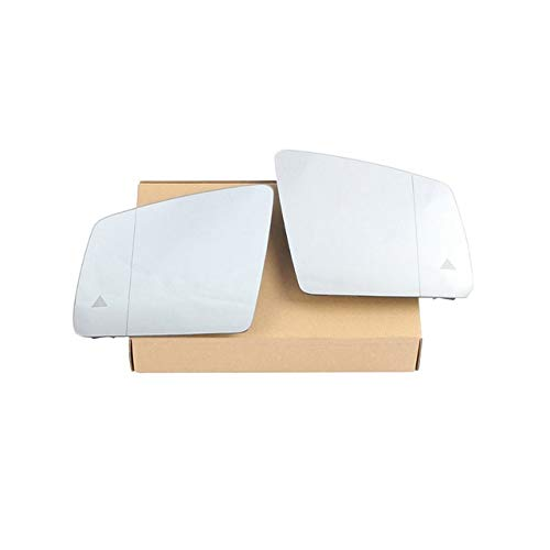 Cubiertas Espejo retrovisor Climatizada Blind Spot Assist de cambio de carril izquierda Retrovisor Lateral derecho Espejo en forma Fit for el BENZ GL GLS GLE ML G R W166 W463 W251 X166 Ala con