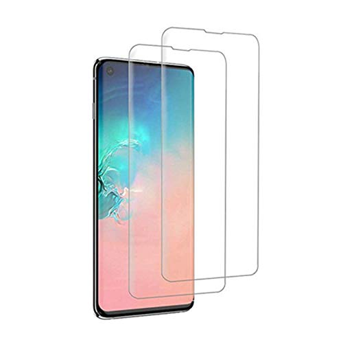 Kompatibel mit Galaxy S10 Plus Panzerglas Schutzfolie Galaxy S10/S10e 3D Tempered Glas Schutzglas [2 Stück] HD Panzerfolie Anti-Kratzen Anti-Öl Displays (Durchsichtig, Galaxy S10)