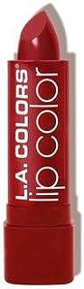 (6 Pack) L.A. COLORS Moisture Rich Lip Color - Berry Red (並行輸入品)