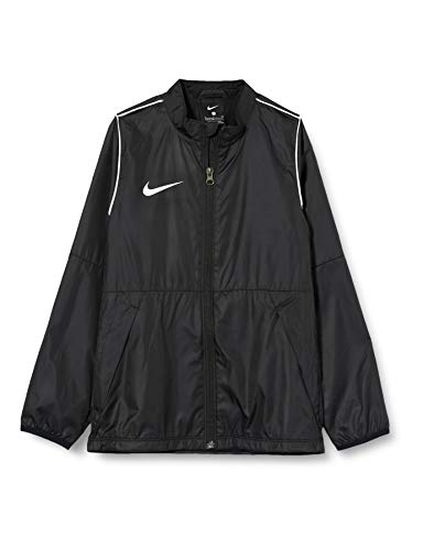 Nike Kinder Jacke Repel Park 20, Black/White/White, S, BV6904-010