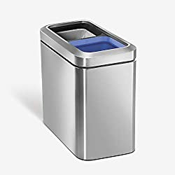 Best Small Open Top Dual Trash Can