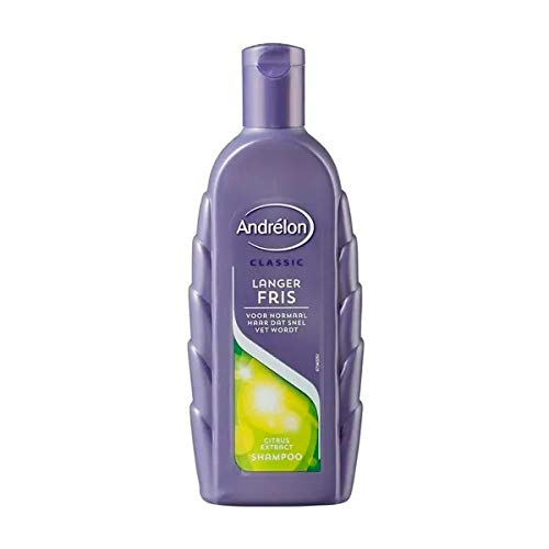 6er Pack - Andrelon Shampoo - Langer Fris - für normales Haar - 300 ml