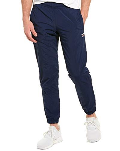 Reebok Vector Trainingshose, Herren, Jogginghose, Vector Track Pant, Collegiate Marineblau, Large