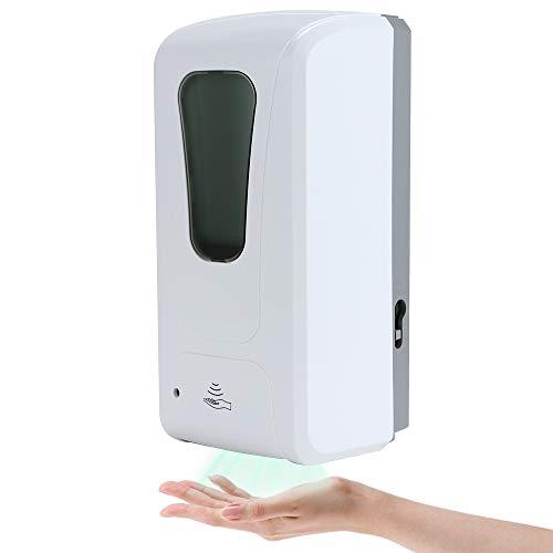 KEESIN Dispensador automático de desinfectante de Manos de 1000 ml, dispensador de jabón líquido montado en la Pared, dispensador de desinfectante de Alcohol sin Contacto
