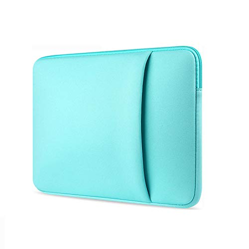 Yinghao Laptop Sleeve 11 12 13 14 15 15 6 inch notebook case Soft bag For Macbook Air Pro Retina Ultrabook 12 9 Tablet Pocket@sky blue_For Macbook15 Retina