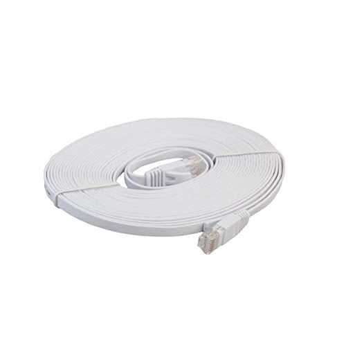 CAT6e Cable de red Ethernet plano LAN de alta velocidad de transmisión portátil Ethernet Cable Patch Cord para oficina en casa