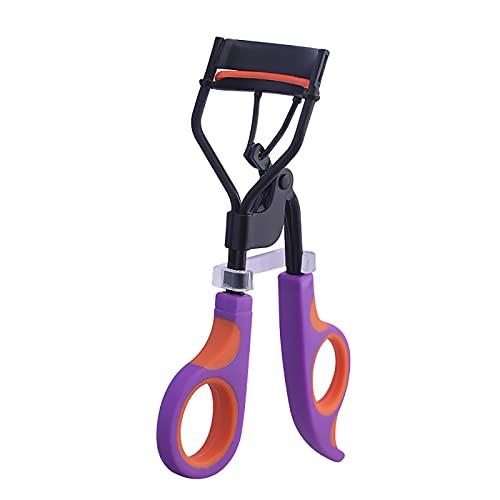 Anjing Pince à épiler en acier carbone et caoutchouc Violet 11,5 cm