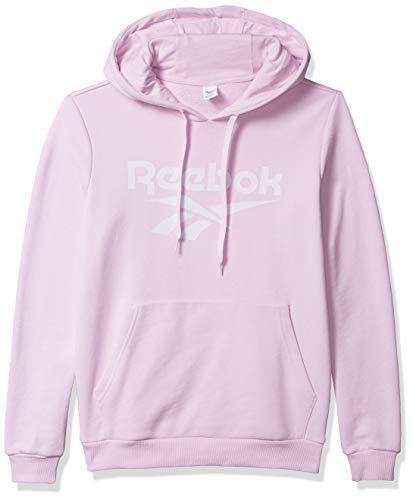 Reebok Damen Classic Vector Hoodie Kapuzenpullover, Pixel Pink, X-Large