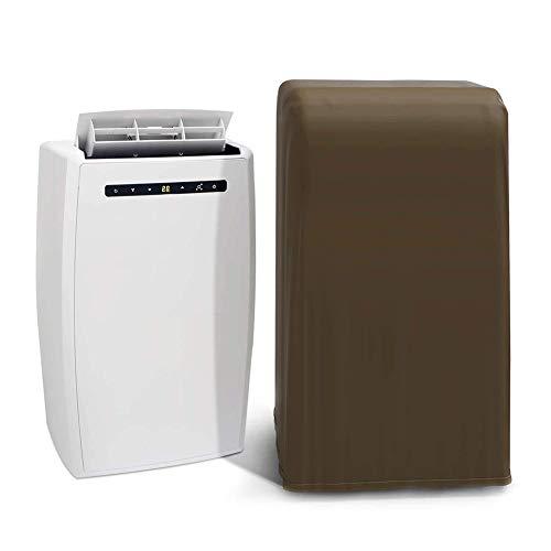 Cubierta universal portátil para aire acondicionado, resistente al agua, a prueba de polvo con cuerda telescópica, protector de cubierta de muebles de 18 x 16 x 30 pulgadas HZC335