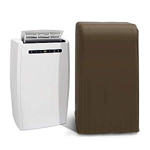 HZC335 - Funda universal para aire acondicionado portátil, resistente al agua, a prueba de polvo, con cuerda telescópica, protector de muebles de 18 x 16 x 30 pulgadas