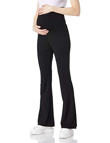 SUPERMOM Pants OTB Flare Pantaloni, Nero-P090, M Donna