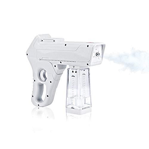 350ML Desinfektion Blaues Licht Nano Steam Gun Ultrafein Aerosol Wasser Nebel Auslösen Sprühgerät Desinfektion Und Sterilisation für Büro Zuhause Schönheit Salon
