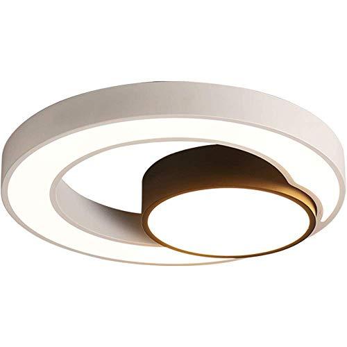 WANQINV Lámpara de Techo Simple y Moderna y Moderna. Lámpara de la habitación para niños con un diámetro de 40 cm-50 cm. La lámpara de Techo de atenuación de Tres Colores de acrílico es Adecuada para