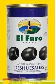 """El Faro Oliven schwarz \""""Deshueasadas\"""", 150g (Füllgewicht)"""