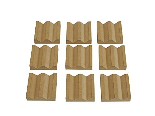 乱反射ブロック (【板厚15mmMDF】9個セット×5 45%引き)