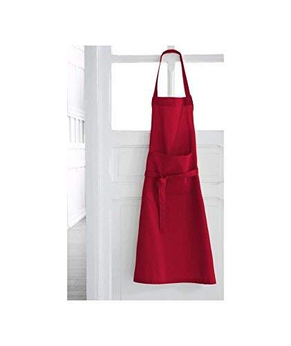 Today 257521 Tablier Coton Pomme d'amour/Rouge 79 x 104 cm