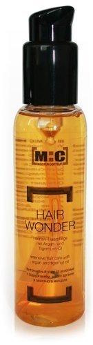 M:C Hair Wonder, intensiv Haarpflege, 100ml, Arganöl + Tigernussöl, top Hitze- + Feuchtigkeitsschutz beim Styling
