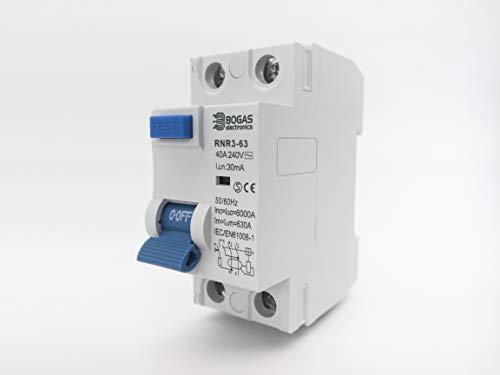 Interruptor Diferencial tipo AC con MiniFiltro de Armónicos (Electro-Magnetic) (40 Amperios)