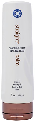 Thermafuse Straight Smoothing Balm (8 oz) Flattens, Smoothes, Straightens, Blocks Humidity, Moisturizes and Protects Hair Against Heat and Thermal Styling From Blow Drying and Ironing All Hair Types