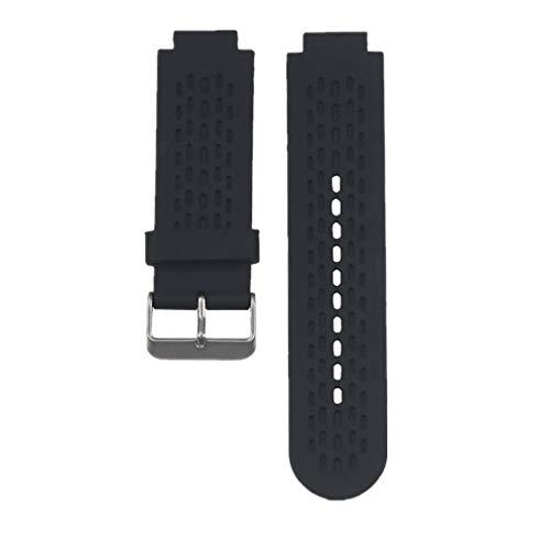 WEINISITE Uhrenarmbänder Armband für Garmin Approach S2/S4 GPS Golf-Uhr/Garmin vívoactive Uhr (Schwarz)
