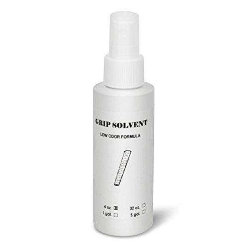 Golf Grip Lösungsmittel/Aktivator geruchlos 125 ml 113,4 g + Spray Top + Gummi Klemme