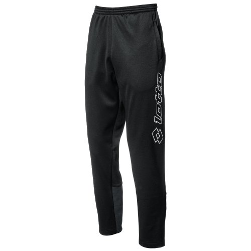 Lotto Sport Herren Hose Pants Zenith Cuff, Black/White, XL, Q8572