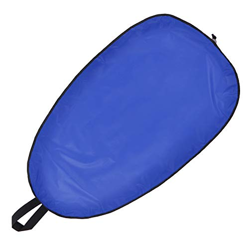 Explopur Kayak Cockpit Cover with Clips - Blue Water-Resistant