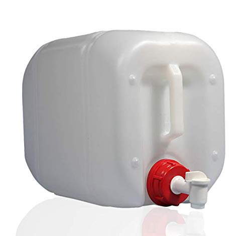 HELGUEFER - Bidón 25 litros con Grifo Plástico