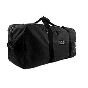 Heavy Duty Cargo Duffel Large Sport Gear Drum Set Equipment Hardware Travel Bag Rooftop Rack Bag