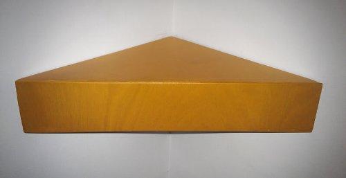 Crafted Storage Licht Eiche handgefertigt aus Holz Schwebendes Eckregalbrett Ablagen