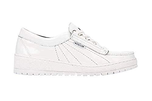 Mephisto womens Sneaker, White, 9.5 US