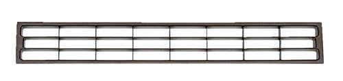 PiHaMi® Lüftungsgitter für Sockelleisten und Möbel Farbe braun (geeignet für Material 2-23 mm)